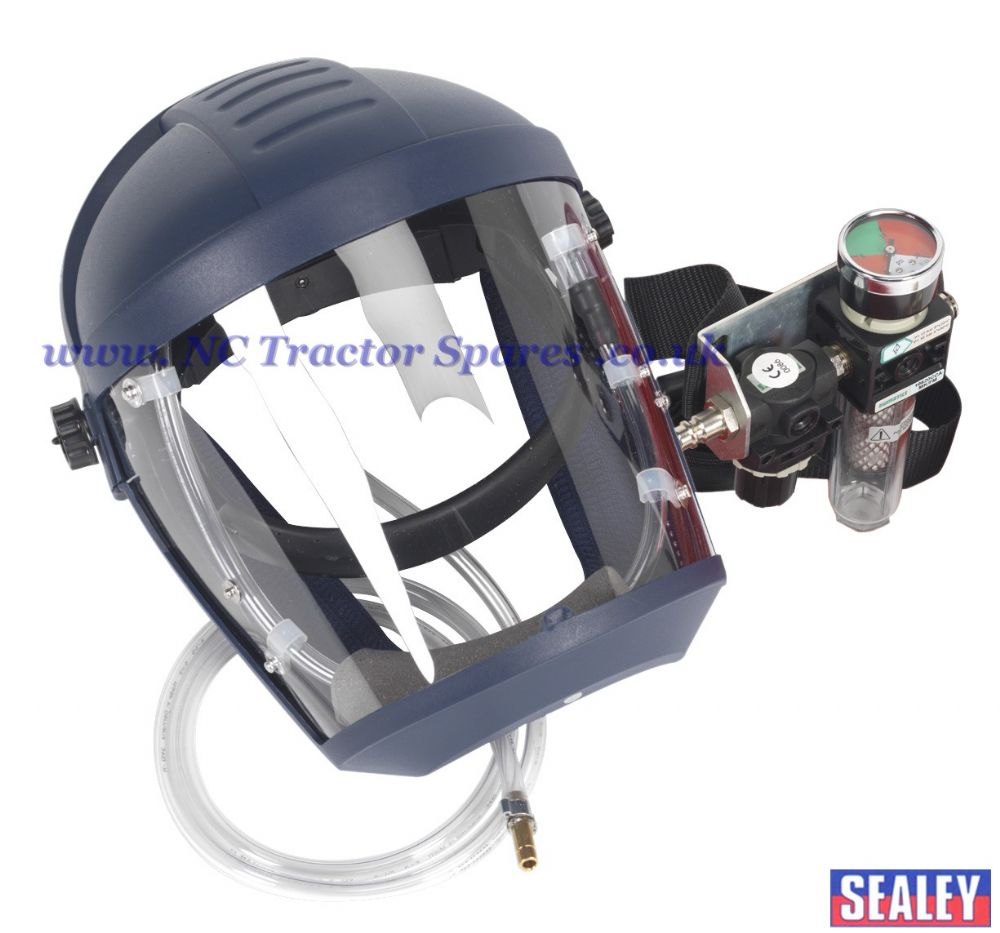 Air Fed Breathing Mask with Waist Belt Assembly to BS EN 270